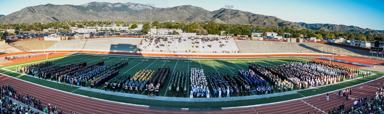 Panoramic photo of POB Bands in Review by Clarissa Anello Photography