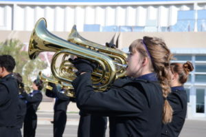 Photo of LCHS Band Member Eliana O'Brien