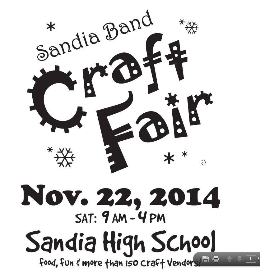Promoting A Craft Fair